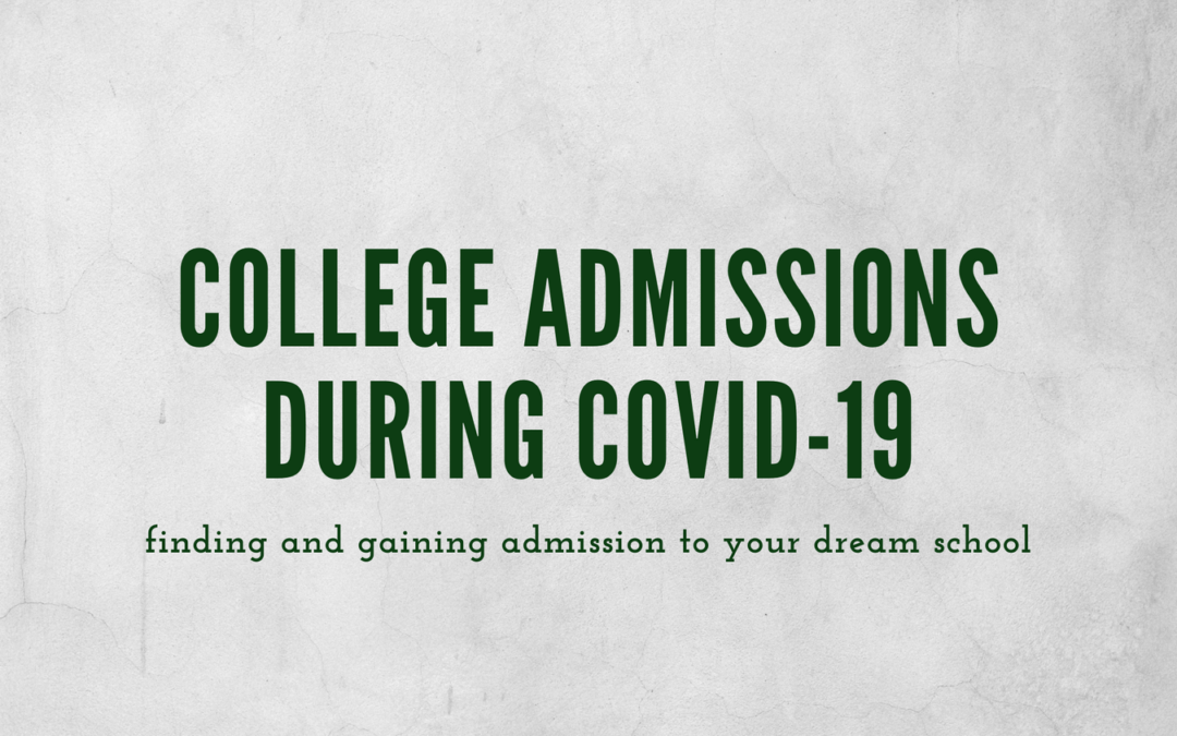College Admissions During COVID-19